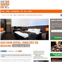 Digital year-long campaign for Different Hotels via the website www.metdevrienden.be