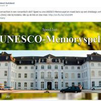 Online Unesco Memory Game for the German Tourist Office